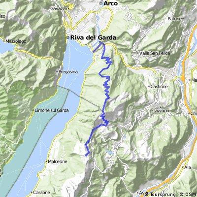 Monte Baldo-Monte Altissimo-Torbole
