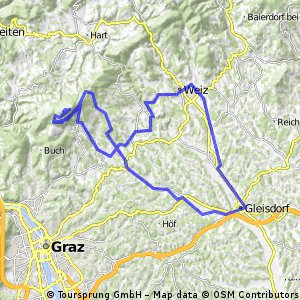 Geisdorf - Schöckl - Weiz