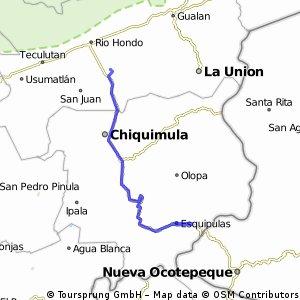 Circuito Esquipulas 5 vueltas- Zacapa