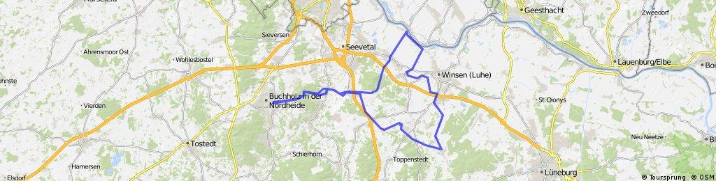 Elbe-Hoopte Trainingsfahrt