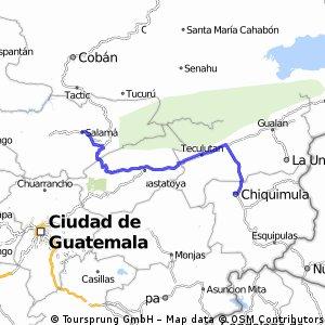 Etapa 4 Chiquimula- Salama