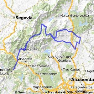20ª Eta S Lorenzo del Escorial,Cercedilla 200 km