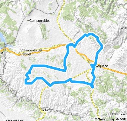 Requena-Campo Arcís-Venta Moro-Las Nogueras-Requena