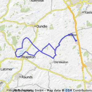 Sawtry - Thrapston - Wadenhoe