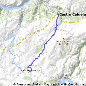 Valdarias - Castro Caldelas