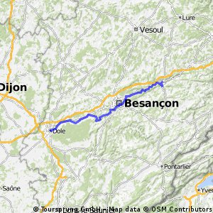 Ziua a 7-a: Dole - Pont-les-Moulins