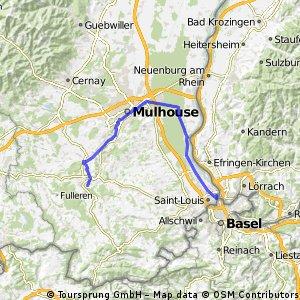 Ziua a 9-a: Altkirch - Huningue - Basel