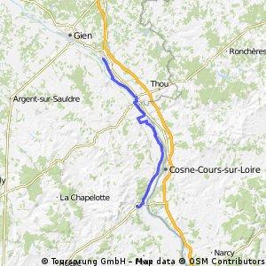 Camino 2015 16 Sancerre nach Briare