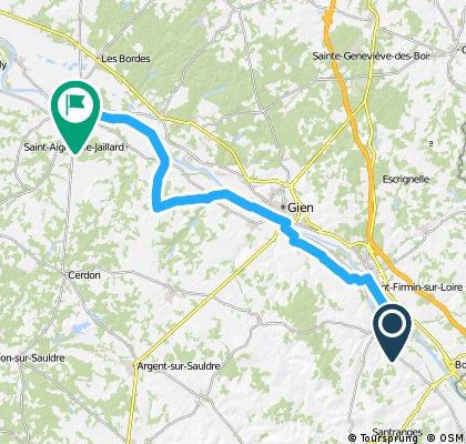 Camino 2015 17 Chatillon nach Sully sur Loire