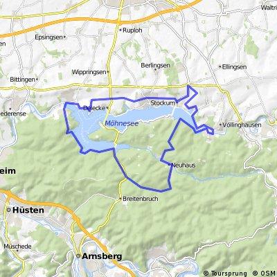 Große Möhnesee-Tour