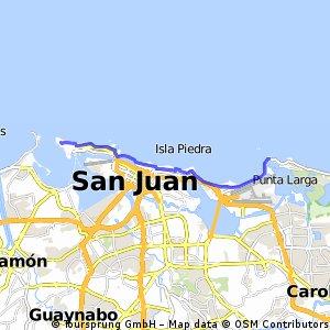 Puente Piñones > El Morro (roundtrip). Sabado, 8 de Nov.