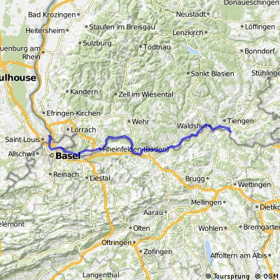 Ziua a 10-a: Huningue (Basel) - Kussaberg