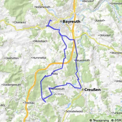 Bayreuth Rotermainquelle Lindenhardt Creusen