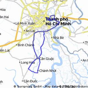 VNM HCMC-Chanh Nhut-Phong Phu (93km)