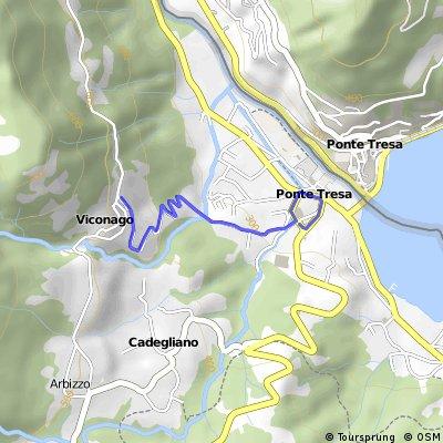 Ponte Tresa-muro di Viconago
