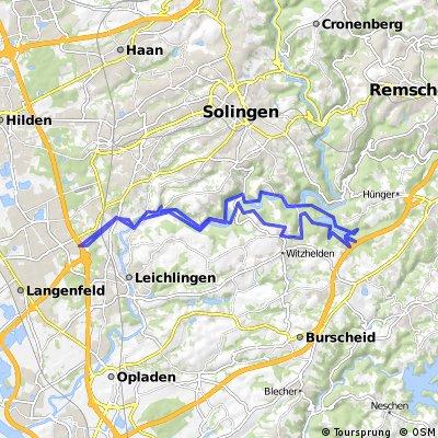 Tour um die Sengbachtalsperre