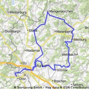 Westerwald und Lahntal