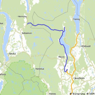 Route Norway day 1