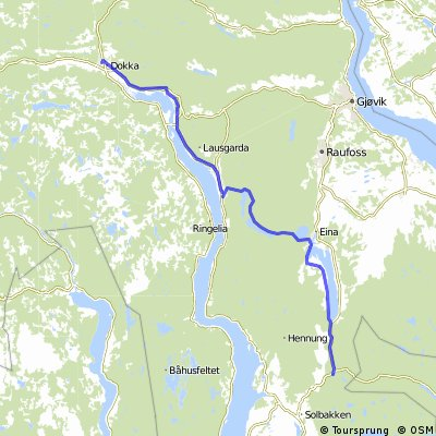 Route Norway day 2