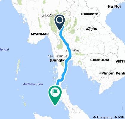 Chiang Mai - Phuket