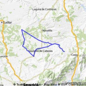 Turégano-Aguilafuente-Hontalbilla-Cantalejo