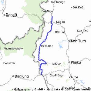 Ca Nhay-Grenze Kambodia