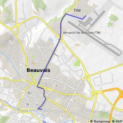 Ziua Zero: Aeroport Beauvais - Gara Beauvais