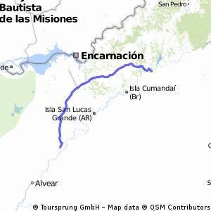 Parte Argentina missoes