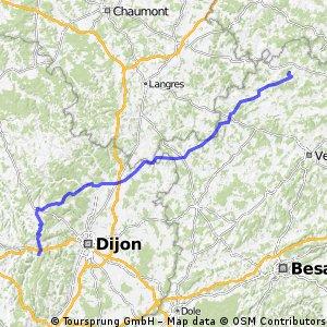 Stage 3 - Hurecourt - Ste Marie sur Ouche