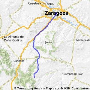 11 Zaragoza to Herrera de los Navarros