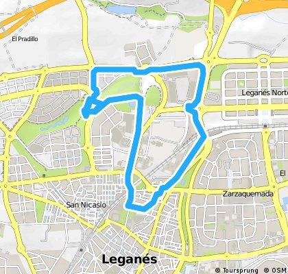 Circuito 2 - La V de la carretera de La Fortuna