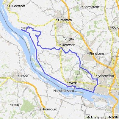 Moorrege, Schenefeld, Blankenese, Kollmar