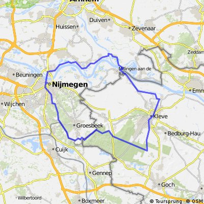 rondje Nijmegen