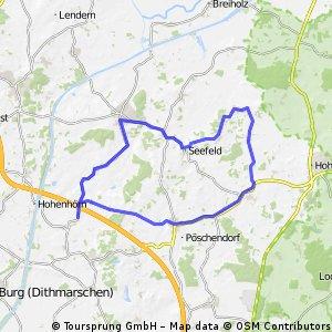 Trainingstour Hademarschen - Todenbüttel -Besdorf