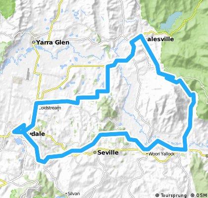 Yarra Vallley Loop