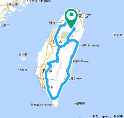 8字環島2
