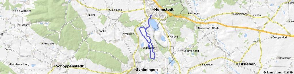 Radstrecke Crossduathlon Hauptwettkampf