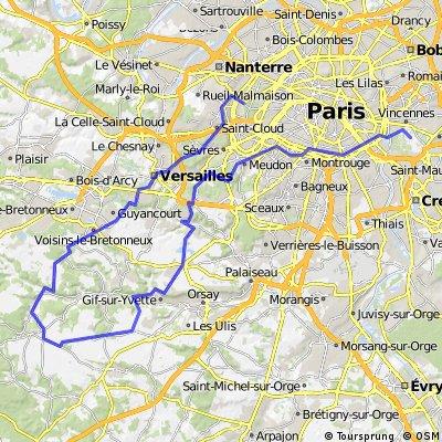 Sortie Chevreuse de Vincennes à Longchamp - Avancés