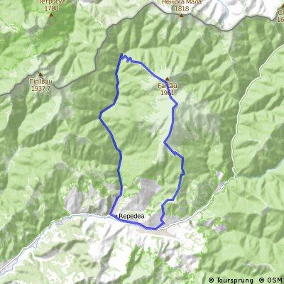 Poienile de sun Munte-Lacul Vindrel-Piciorul Dancului-Valea Repedea-Repedea
