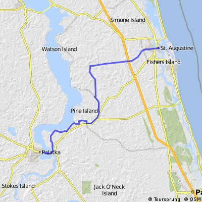 TAO-15 • 001 St Augustine, FL To Palatka, FL
