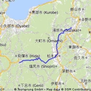 長野市から高山市へ Emiちゃんに会いに行く旅★