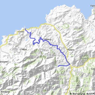 FR Corsica 54.0 - L'Île-Rousse to Cabanella