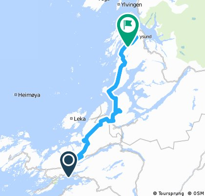 Route Norway day 12