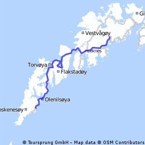Route Norway day 17