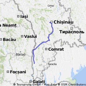 chisinau - cahul
