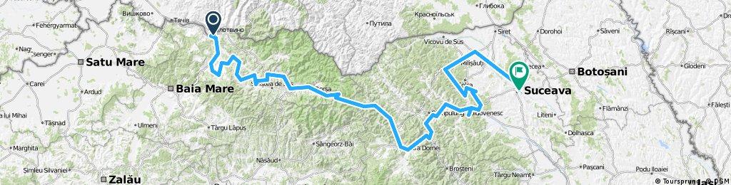 Cycling Romania - Maramures and Bucovina