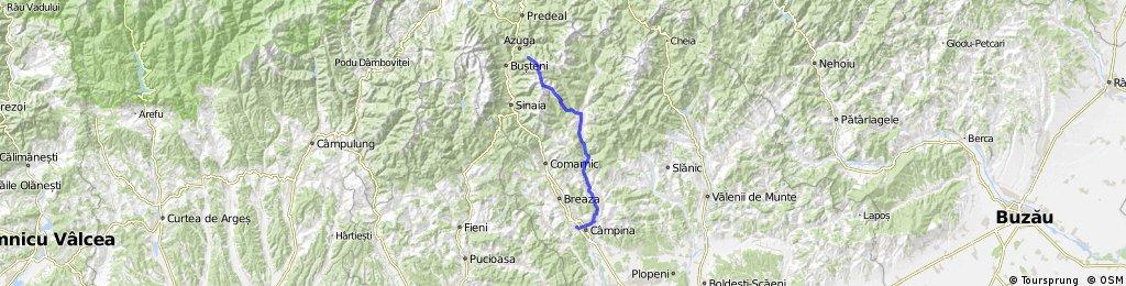 Azuga-Creasta Baiului-Valea Prisolp-Traisteni-Campina