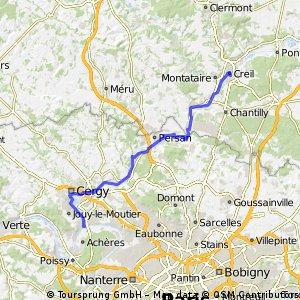 AVC Ride #4 :: Creil - Conflans