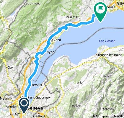 Lite Tour: Geneva -> Morges