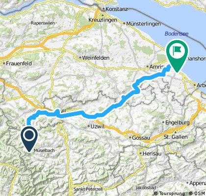 Lite Tour: Fischingen - Romanshorn